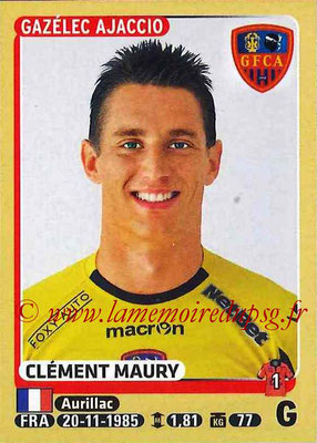 2015-16 - Panini Ligue 1 Stickers - N° 003 - Clément MAURY (Gazélec Ajaccio)