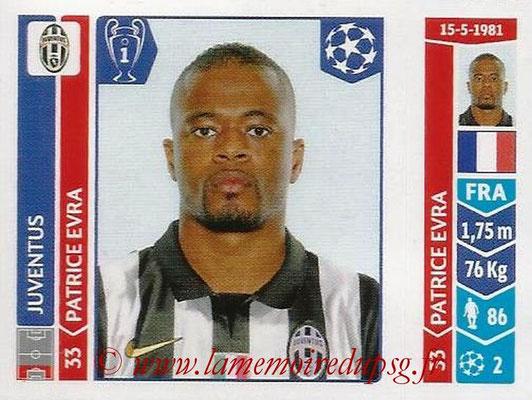 2014-15 - Panini Champions League N° 059 - Patrice EVRA (Juventus Turin)