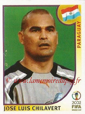 2002 - Panini FIFA World Cup Stickers - N° 135 - Jose Luis CHILAVERT (Paraguay)