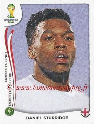 2014 - Panini FIFA World Cup Brazil Stickers - N° 315 - Daniel STURRIDGE (Angleterre)