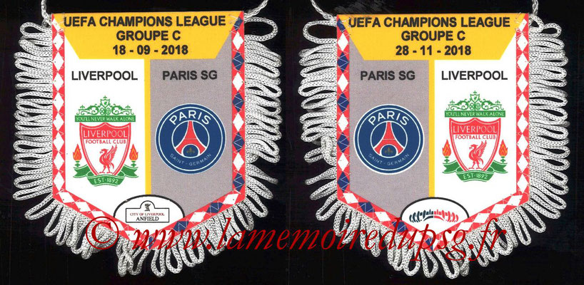 Fanion  PSG-Liverpool  2018-19