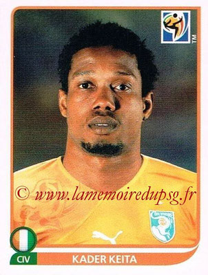 2010 - Panini FIFA World Cup South Africa Stickers - N° 538 - Kader KEITA (Côte d'Ivoire)