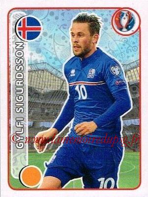 Panini Euro 2016 Stickers - N° 603 - Gylfi SIGURDSSON (Islande)