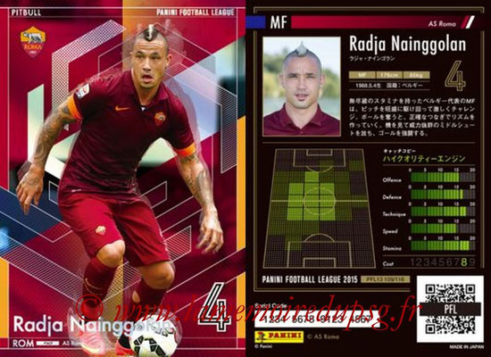 Panini Football League 2015 - PFL13 - N° 109 - Radja NAINGGOLAN (AS Roma) (Pitbull)
