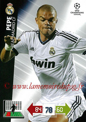 2012-13 - Adrenalyn XL champions League N° 219 - PEPE (Real Madrid CF)