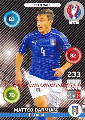 Panini Euro 2016 Cards - N° 174 - Matteo DARMIAN (Italie)