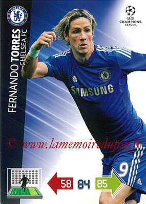 2012-13 - Adrenalyn XL champions League N° 099 - Fernando TORRES (Chelsea FC)