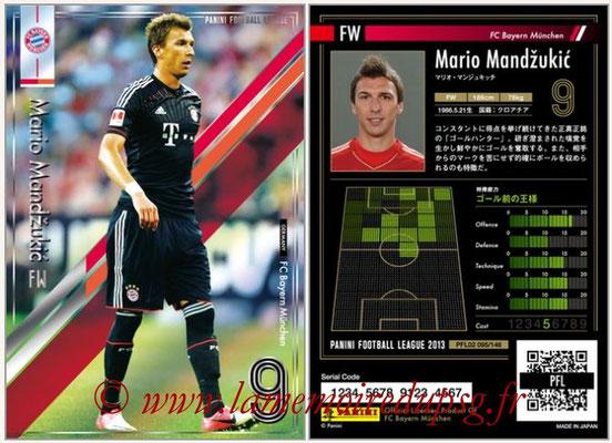 Panini Football League 2013 - PFL02 - N° 095 - Mario Mandzukic ( FC Bayern Munchen )