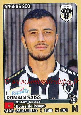 2015-16 - Panini Ligue 1 Stickers - N° 042 - Romain SAÏSS (SCO Angers)