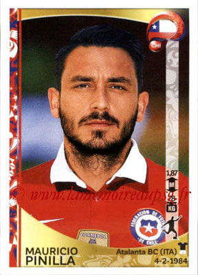 Panini Copa America Centenario USA 2016 Stickers - N° 348 - Mauricio PINILLA (Chili)