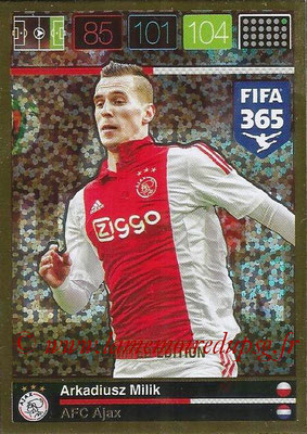2015-16 - Panini Adrenalyn XL FIFA 365 - N° LE-AM - Arkadiusz MILIK (AFC Ajax) (Limited Edition)