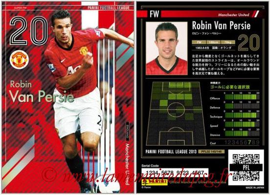 Panini Football League 2013 - PFL02 - N° 145 - Robin Van Persie ( Manchester United  ) (Super FW)