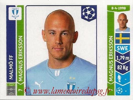 2014-15 - Panini Champions League N° 101 - Magnus ERIKSSON (Malmö FF)