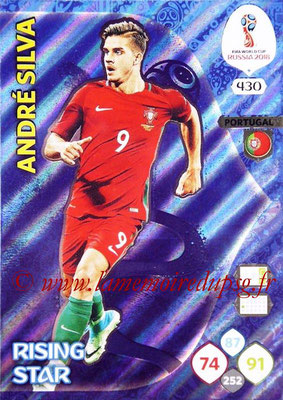 2018 - Panini FIFA World Cup Russia Adrenalyn XL - N° 430 - André SILVA (Portugal) (Rising Star)