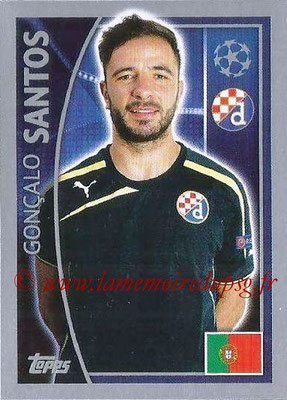 2015-16 - Topps UEFA Champions League Stickers - N° 428 - Gonçalo SANTOS (GNK Dinamo Zagreb)