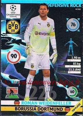 2014-15 - Adrenalyn XL champions League Update edition N° UE102 - Roman WEIDENFELLER (Borussia Dortmund) (Defensive Rock)
