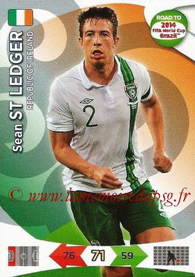 2014 - Panini Road to FIFA World Cup Brazil Adrenalyn XL - N° 111 - Sean ST LEDGER (République d'Irlande)