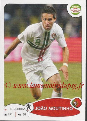 2014 - Panini Road to FIFA World Cup Brazil Stickers - N° 318 - Joao MOUTINHO (Portugal)