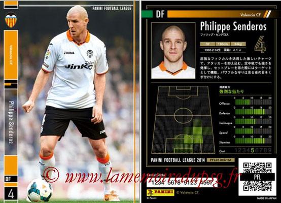 Panini Football League 2014 - PFL07 - N° 049 - Philippe SENDEROS (FC Valence)