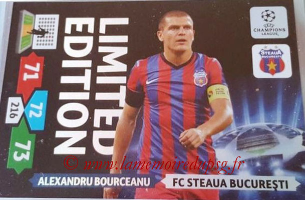 2013-14 - Adrenalyn XL champions League N° LE47 - Alexandru BOURCEANU (FC Steaua Bucarest) (Limited Edition)