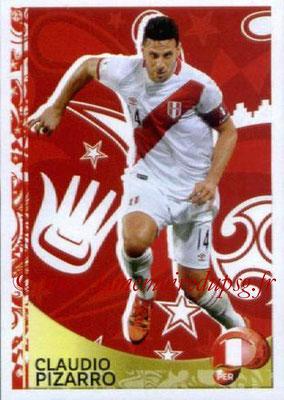 Panini Copa America Centenario USA 2016 Stickers - N° 426 - Claudio PIZARRO (Perou) (En action)