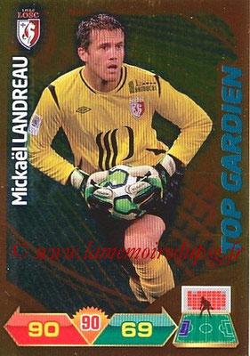N° 323 - Mickaël LANDREAU (2006-09, PSG > 2012-13, Lille) (Top Gardien)