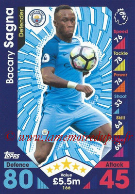 2016-17 - Topps Match Attax Premier League - N° 166