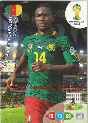 2014 - Panini FIFA World Cup Brazil Adrenalyn XL - N° 062 - Aurélien CHEDJOU (Cameroun)