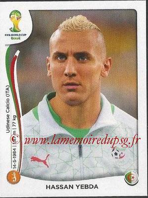 2014 - Panini FIFA World Cup Brazil Stickers - N° 593 - Hassan YEBDA (Algérie)