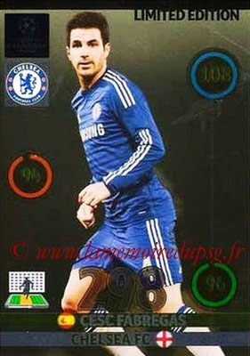2014-15 - Adrenalyn XL champions League Update edition N° LEU-CF - Cesc FABREGAS (Chelsea FC) (Limited Edition)