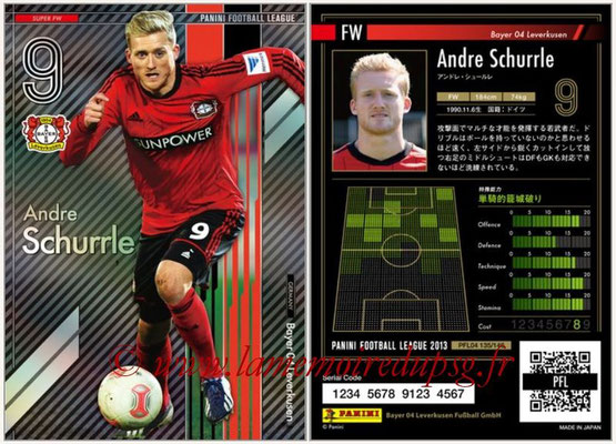 Panini Football League 2013 - PFL04 - N° 135 - Andre SCHURRLE (Bayer Leverkusen) (Super FW)