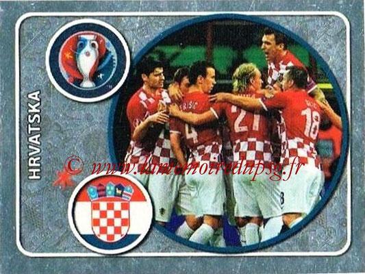 Panini Euro 2016 Stickers - N° 351 - Équipe de Croatie