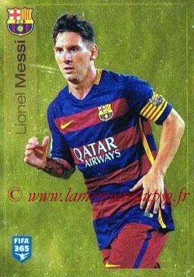 2015-16 - Panini FIFA 365 Stickers - N° 359 - Lionel MESSI (FC Barcelone)
