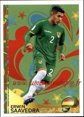 Panini Copa America Centenario USA 2016 Stickers - N° 402 - Erwin SAAVEDRA (Bolivie) (En action)