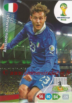 2014 - Panini FIFA World Cup Brazil Adrenalyn XL - N° 217 - Alessandro DIAMANTI (Italie)