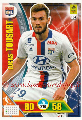 2017-18 - Panini Adrenalyn XL Ligue 1 - N° 134 - Lucas TOUSART (Lyon)