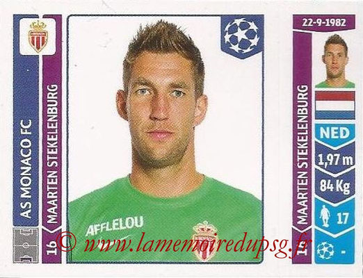 2014-15 - Panini Champions League N° 246 - Maarten STEKELENBURG (AS Monaco)