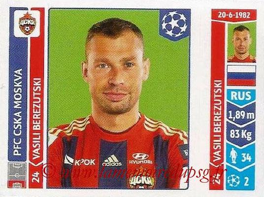 2014-15 - Panini Champions League N° 383 - Vasili BERESUTSKI (PFC CSKA Moscou)
