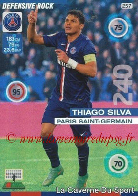 N° 257 - Thiago SILVA (Defensive Rock)