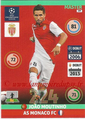 2014-15 - Adrenalyn XL champions League N° 189 - Joao MOUTINHO (AS Monaco) (Master)