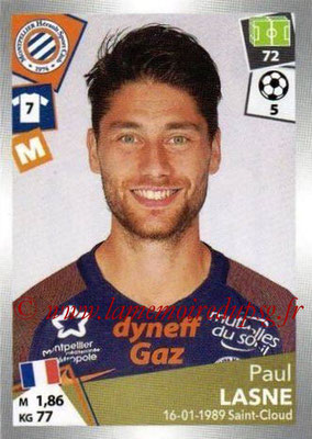 2017-18 - Panini Ligue 1 Stickers - N° 295 - Paul LASNE (Montpellier)