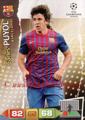 2011-12 - Panini Champions League Cards - N° 026 - Carlos PUYOL (FC Barcelone)