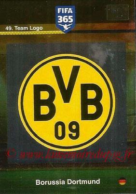 2015-16 - Panini Adrenalyn XL FIFA 365 - N° 049 - Ecusson Borussia Dortmund (Team Logo)