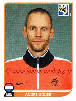 2010 - Panini FIFA World Cup South Africa Stickers - N° 340 - Andre OOIJER (Pays Bas)