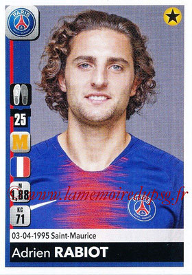 2018-19 - Panini Ligue 1 Stickers - N° 365 - Adrien RABIOT (Paris Saint-Germain)