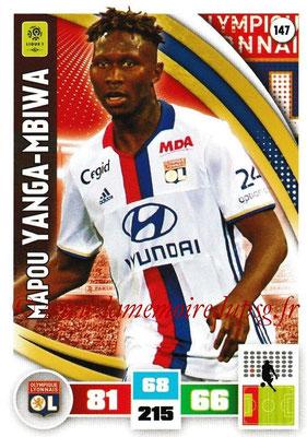 2016-17 - Panini Adrenalyn XL Ligue 1 - N° 147 - Mapou YANGA-MBIWA (Lyon)