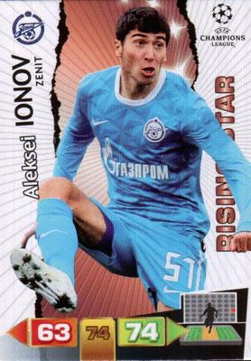 2011-12 - Panini Champions League Cards - N° 270 - Aleksei IONOV (FC Zenit) (Rising Star)