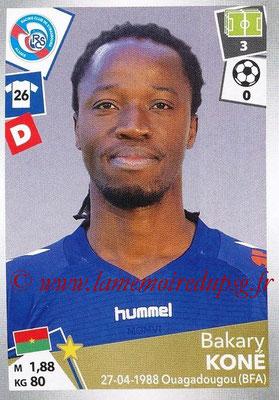 2017-18 - Panini Ligue 1 Stickers - N° 444 - Bakary KONE (Strasbourg)