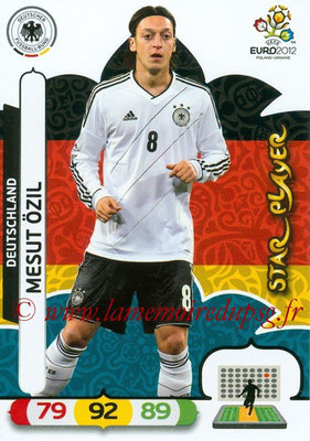 Panini Euro 2012 Cards Adrenalyn XL - N° 035 - Mesut ÖZIL (Allemagne) (Star Player)