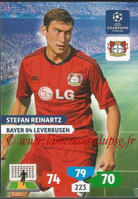 2013-14 - Adrenalyn XL champions League N° 079 - Stefan REINARTZ (Bayer 04 Leverkusen)